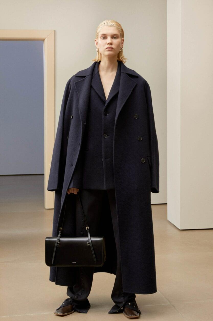 coleção minimalista Jil Sander