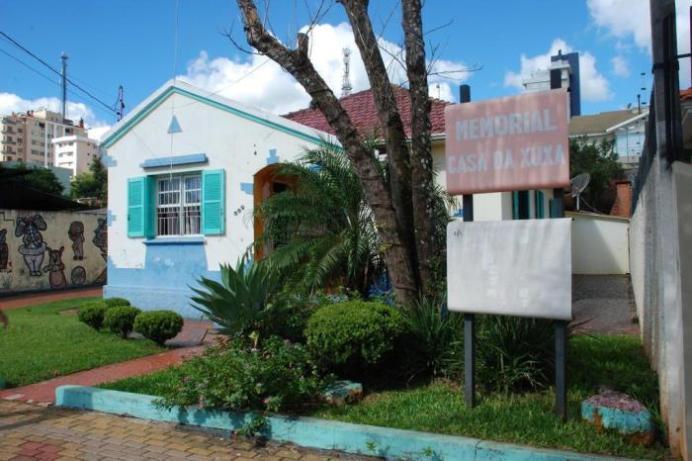 Antiga casa e memorial da Xuxa