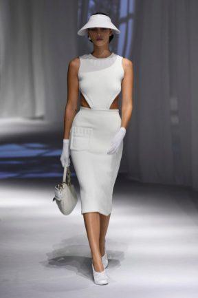 vestido branco Fendi verão