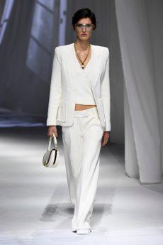 coleção Fendi verão conjunto branco