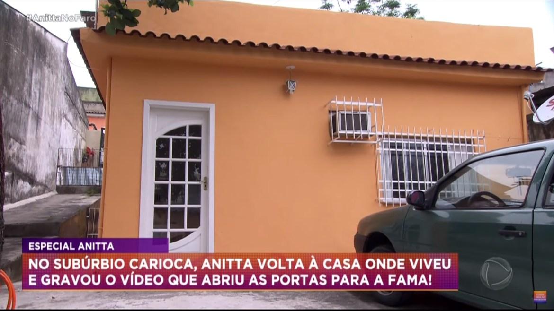 Foto da Primeira casa de Anitta