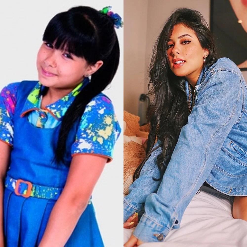Antes e depois de Cínthia Cruz
