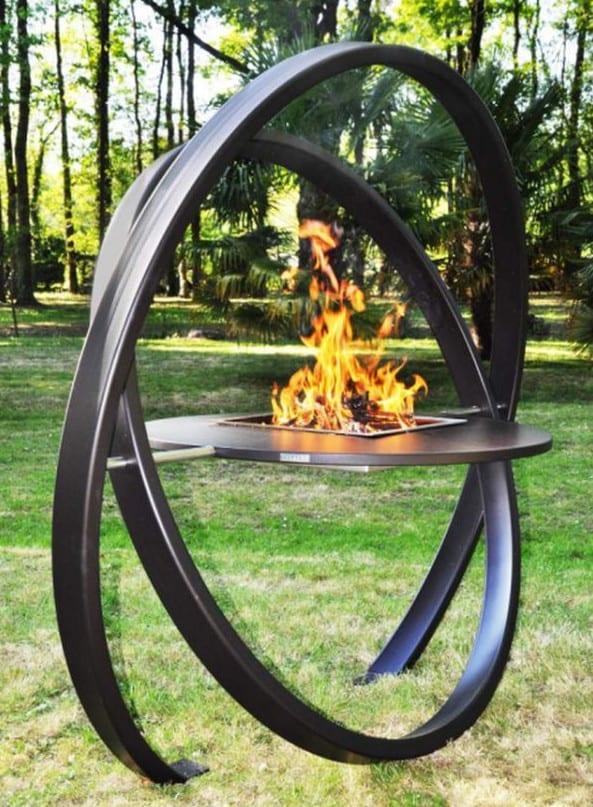 Churrasqueira escultura