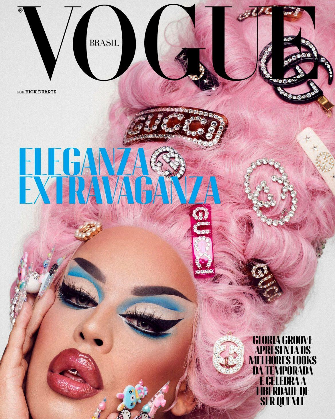 Pabllo Vittar é capa da Vogue Brasil 4