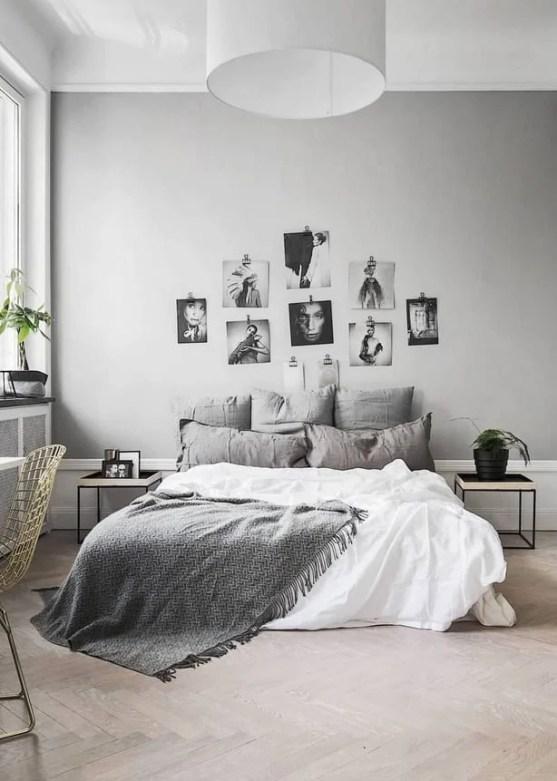 fotos na decoração do quarto