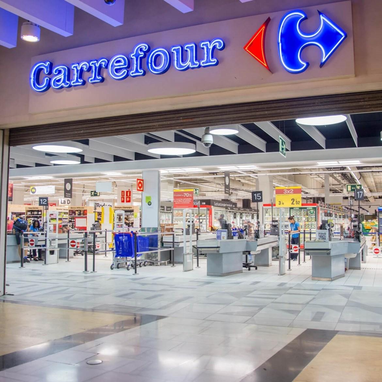 Hipermercado Carrefour.