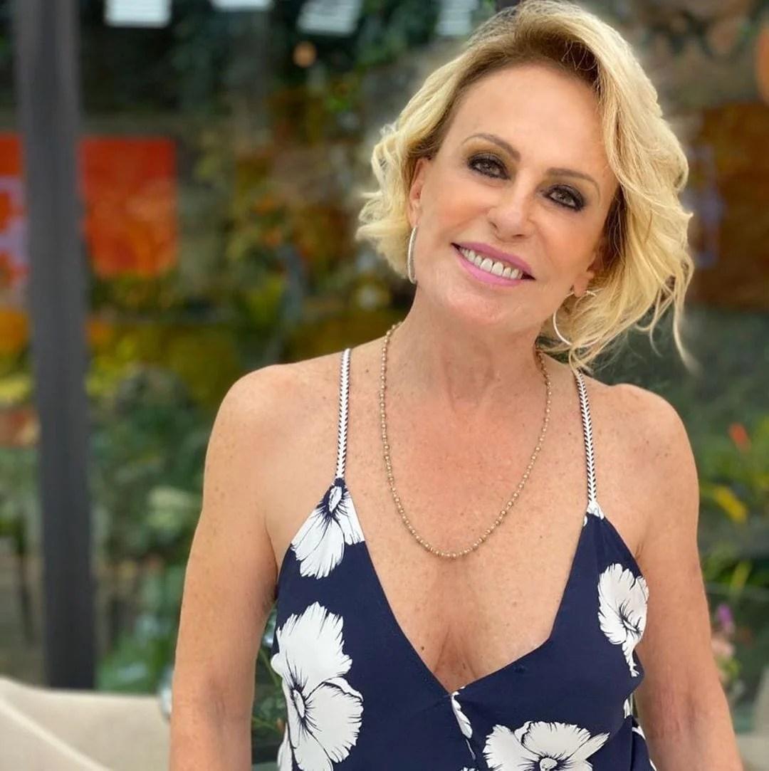 Ana Maria Braga em seu programa