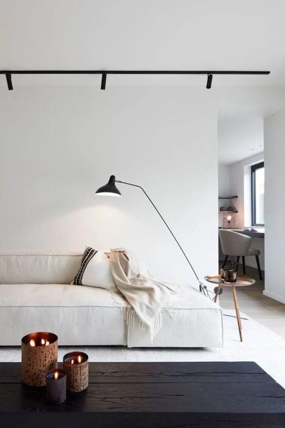 Sala moderna minimalista