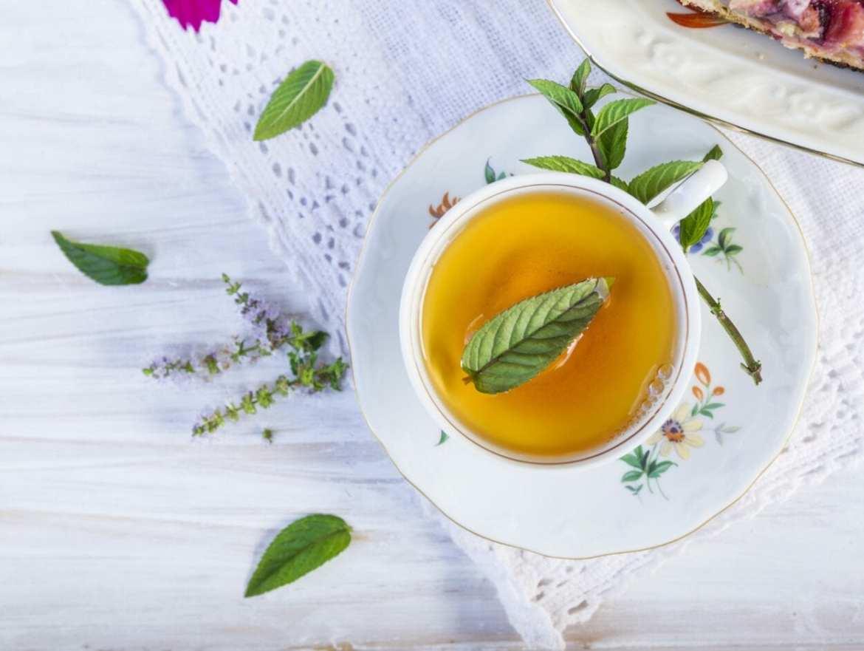 pra que serve o chá de hortelã