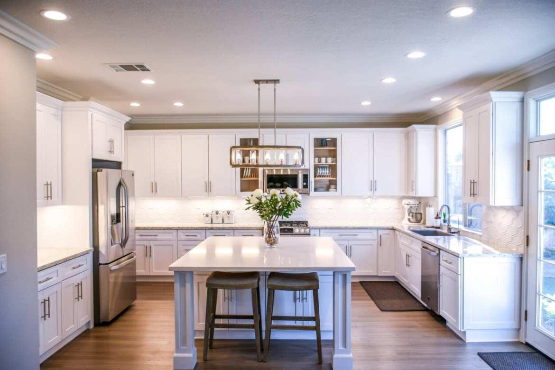Cozinha após reforma da casa