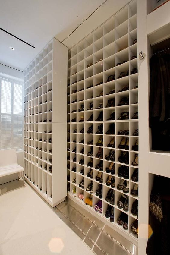 Closet para sapatos