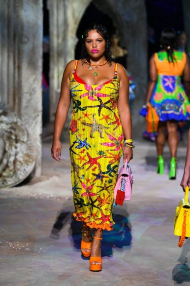Milão fashion week Versace