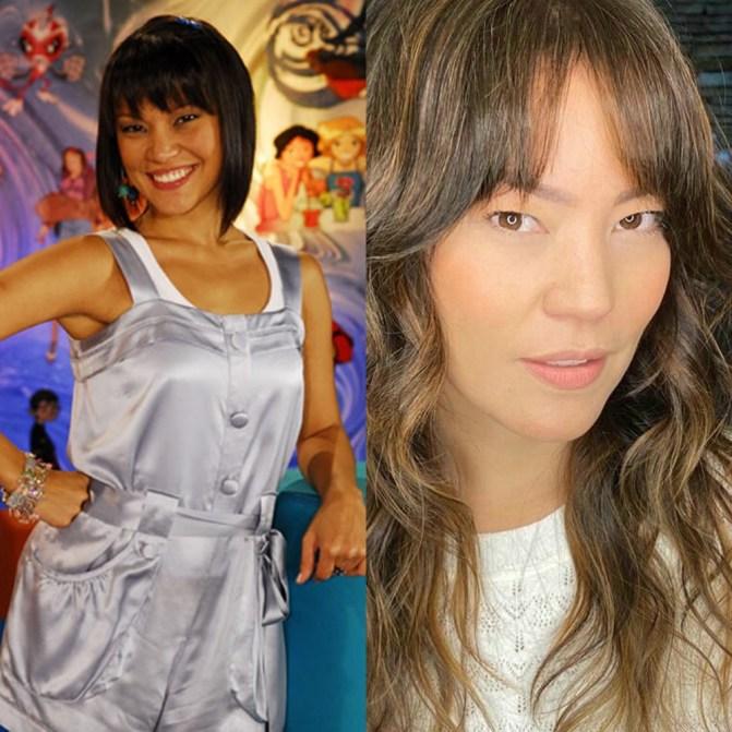 Geovanna Tominaga antes e depois
