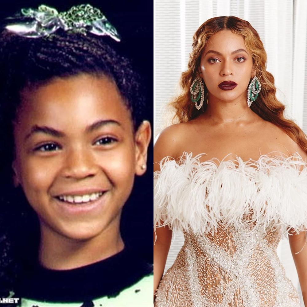 Beyoncé na infância