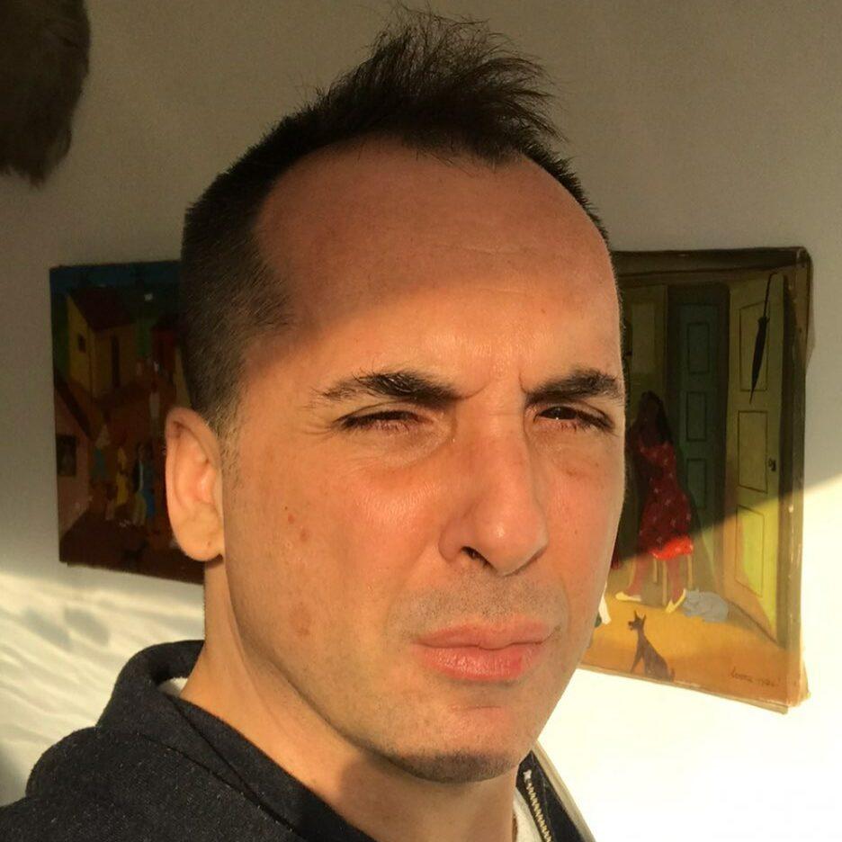 Vinicius Campion em selfie