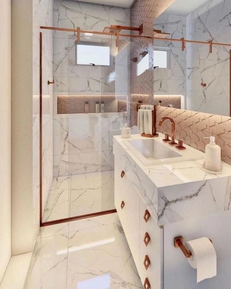 Banheiro branco