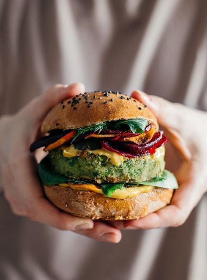 hambúrguer vegano 9
