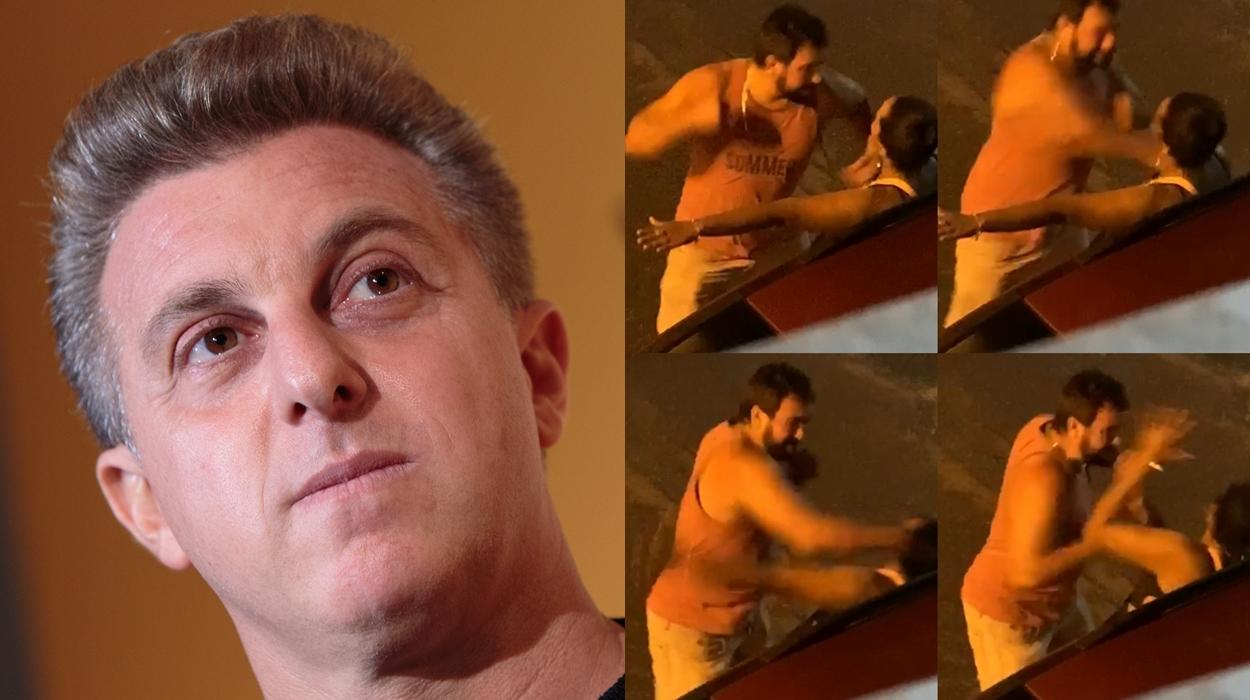 Luciano Huck/Vídeo de agressão