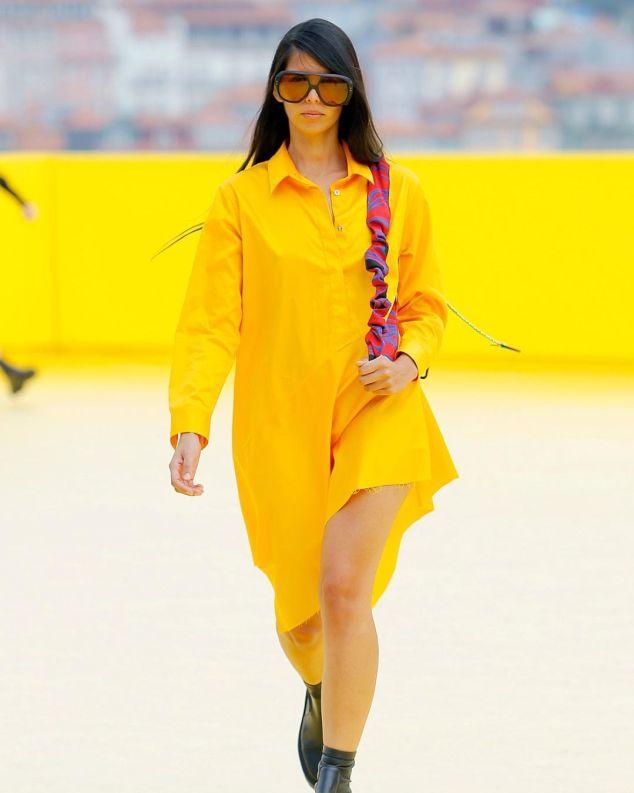 marques almeida lente amarela