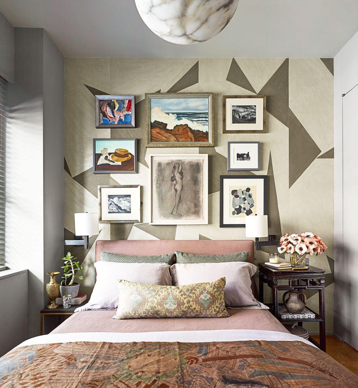 Papel de parede e quadros