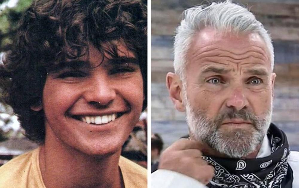 Mateus Carrieri antes e depois dos peões de A Fazenda 12.