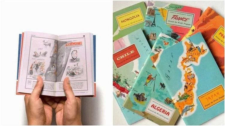 livros guias de viagem