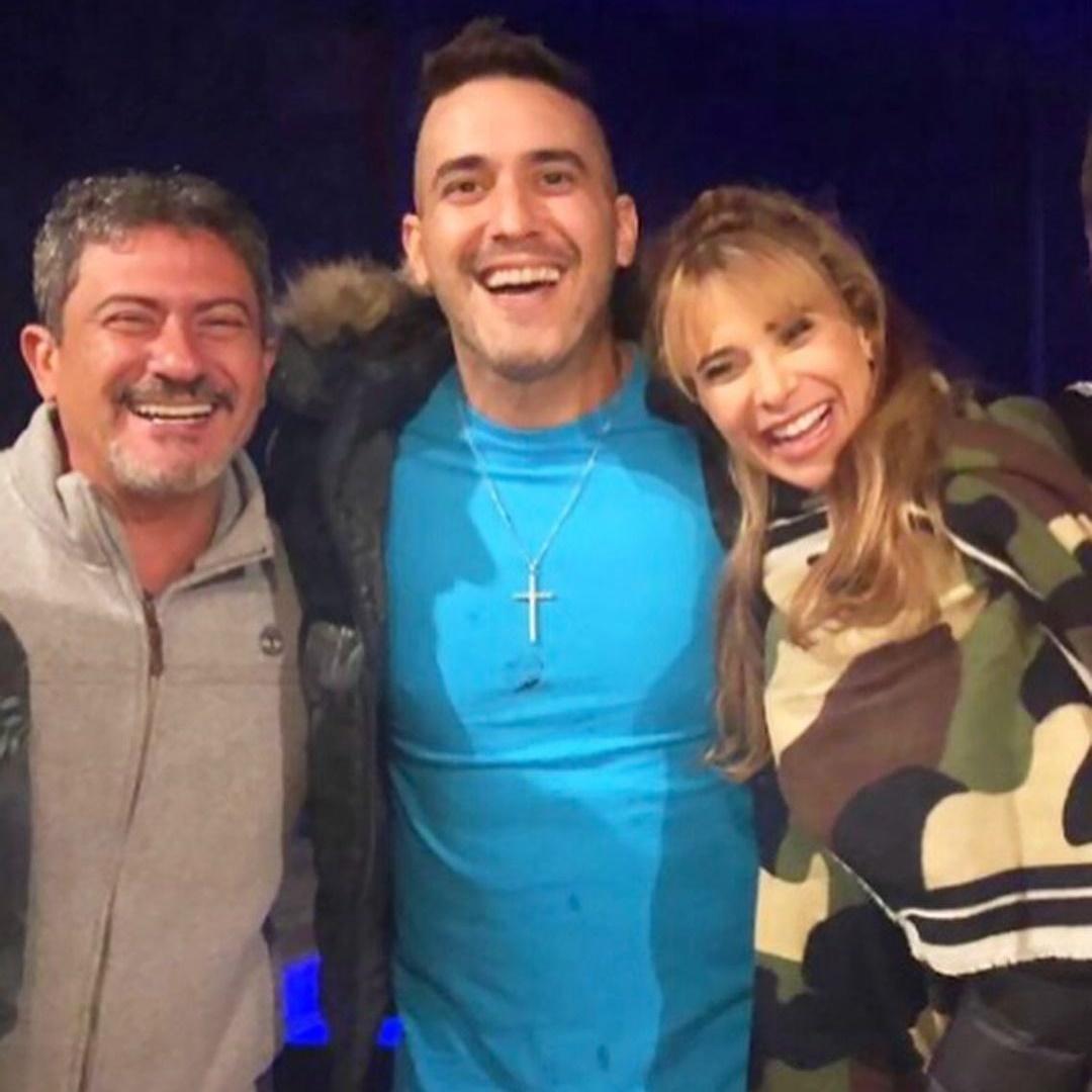 Tom Veiga, André Marques e Dany Bananinha