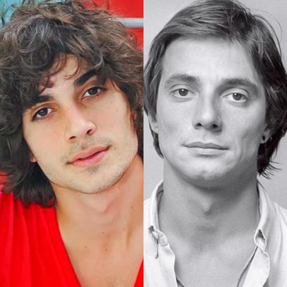 Fiuk e pai em comparação.