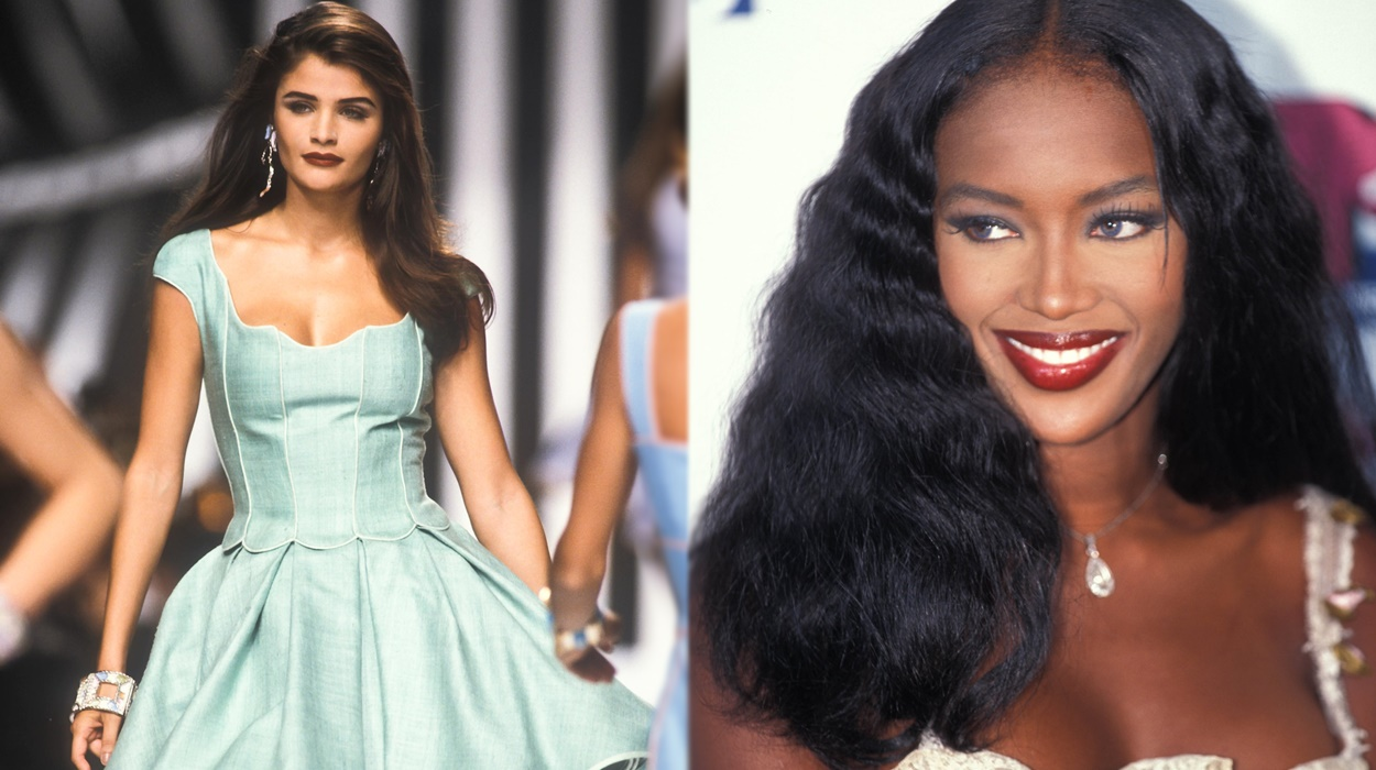 Modelos dos anos 90.