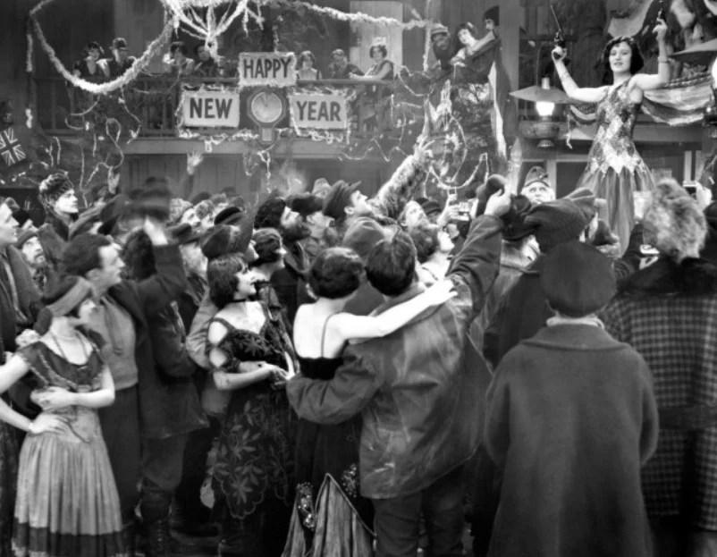 Cena do filme The Roaring Twenties, de 1939.