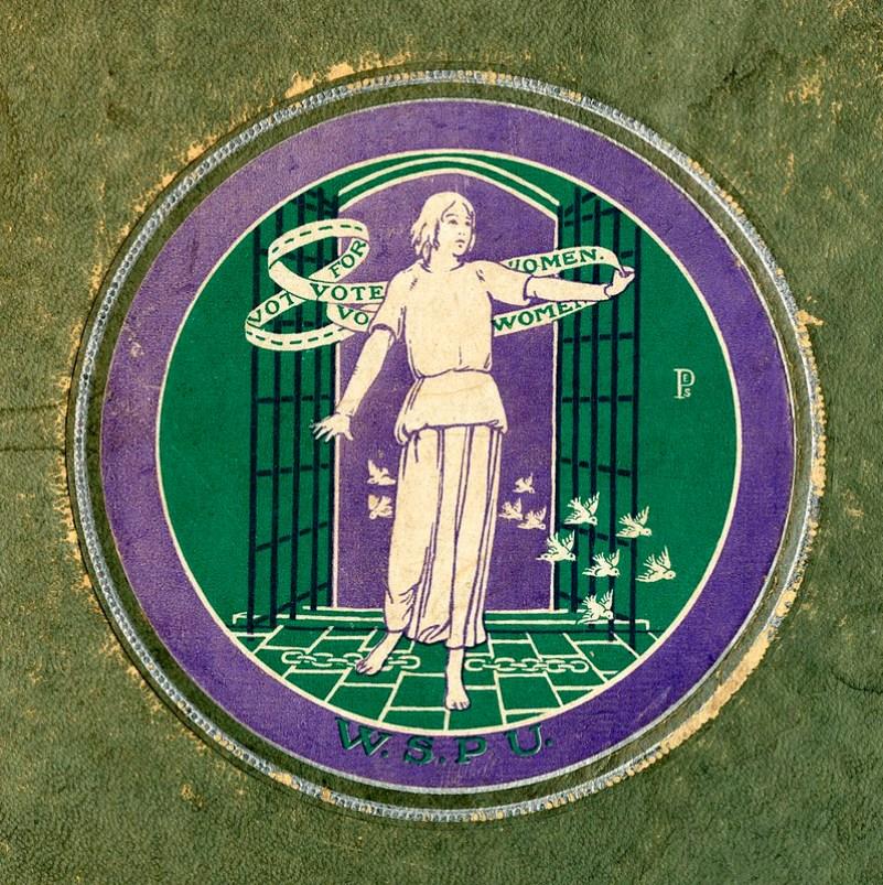 Cartaz da WSPU com a frase Vote for Women, c.1911.