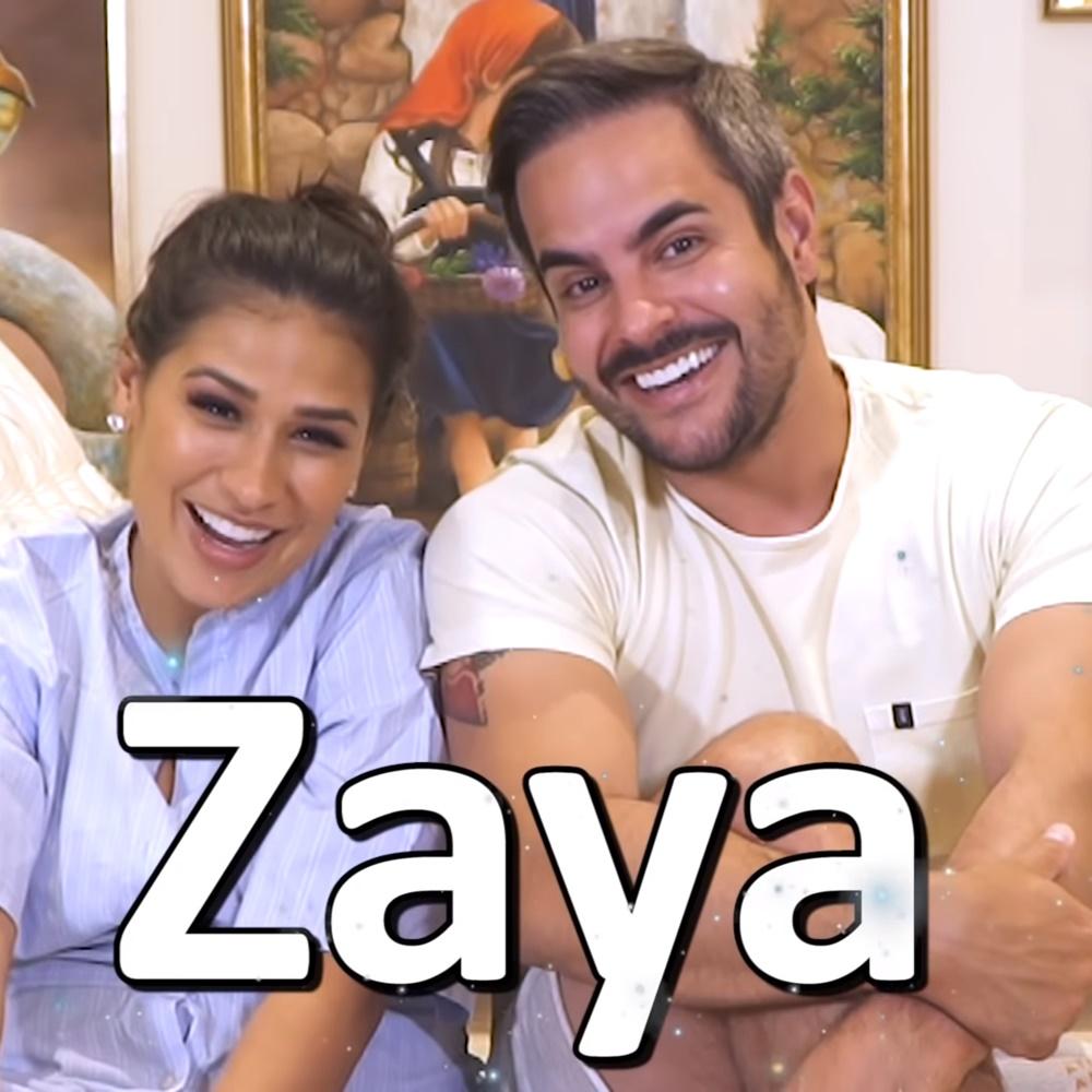 Simone e Kaká revelam nome da filha, que será Zaya.