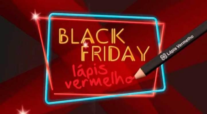 lápis vermelho nos descontos black friday 200