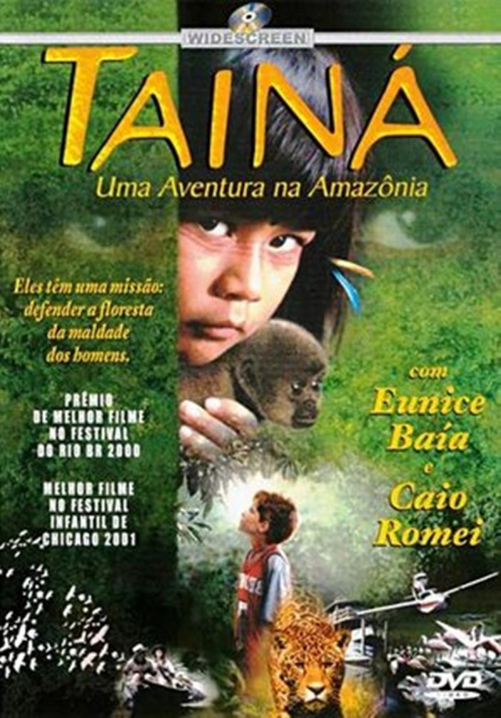 Cartaz do filme Tainá, ano 2000.