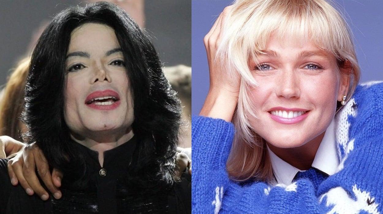 Xuxa e Michael Jackson,