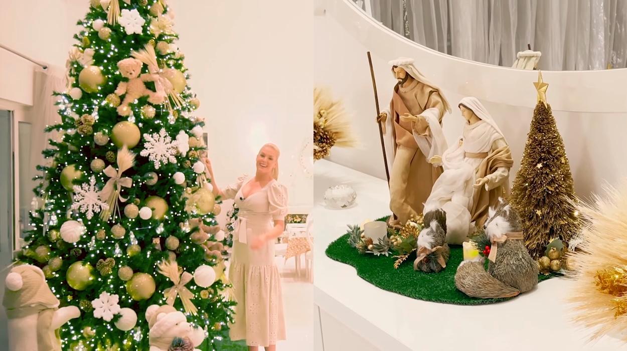 Decoração de Natal Ana Hickmann.