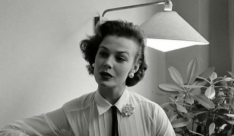 mulher em 1950