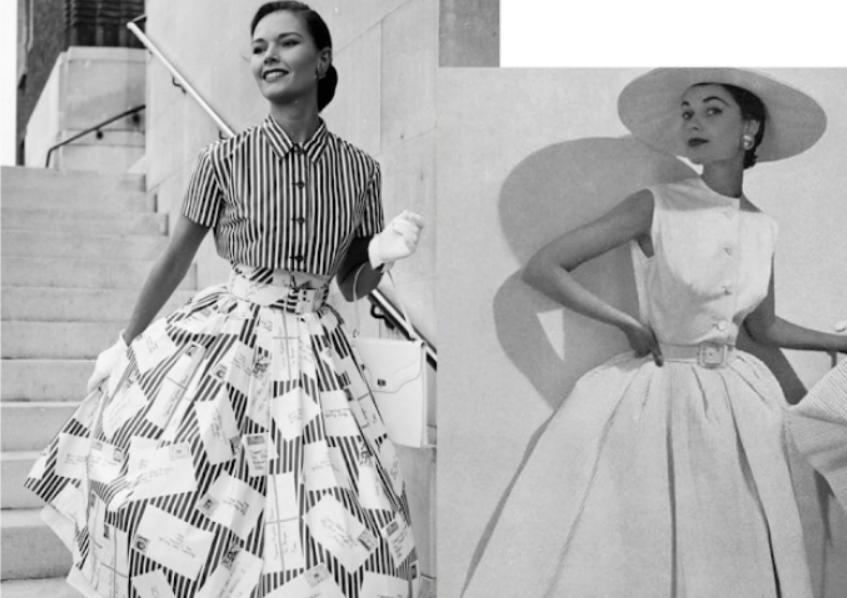 mulheres em 1950