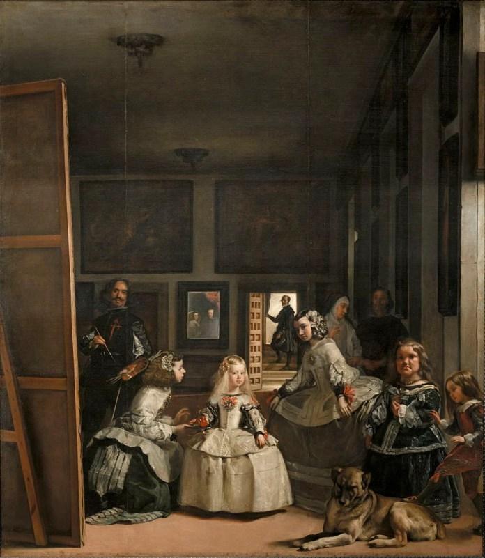 Pintura de Diego Velázquez ´As meninas`, de 1656–57.