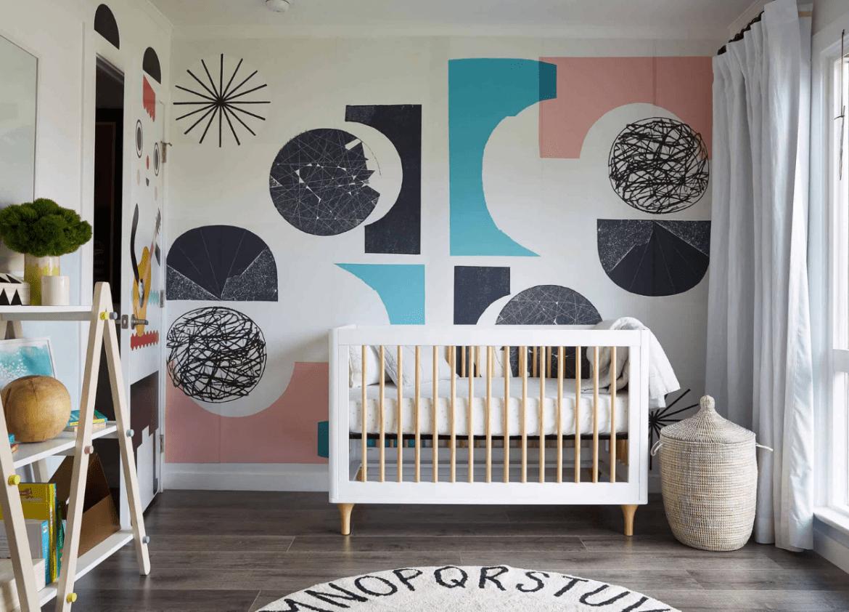 Quarto de bebê decorado moderninho