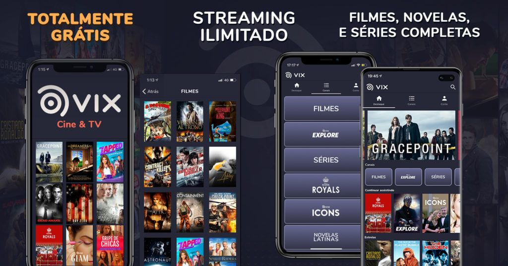 Streamings gratuitos