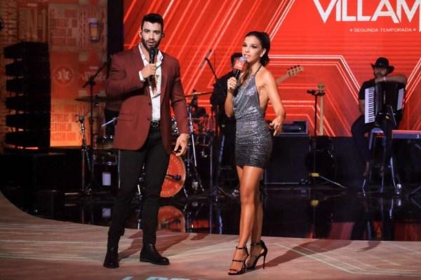 Mariana Rios e Gusttavo Lima no evento do Villa Mix - Foto: Reprodução