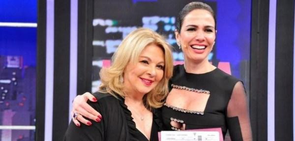 Luciana Gimenez e a mãe - Foto: RedeTV!