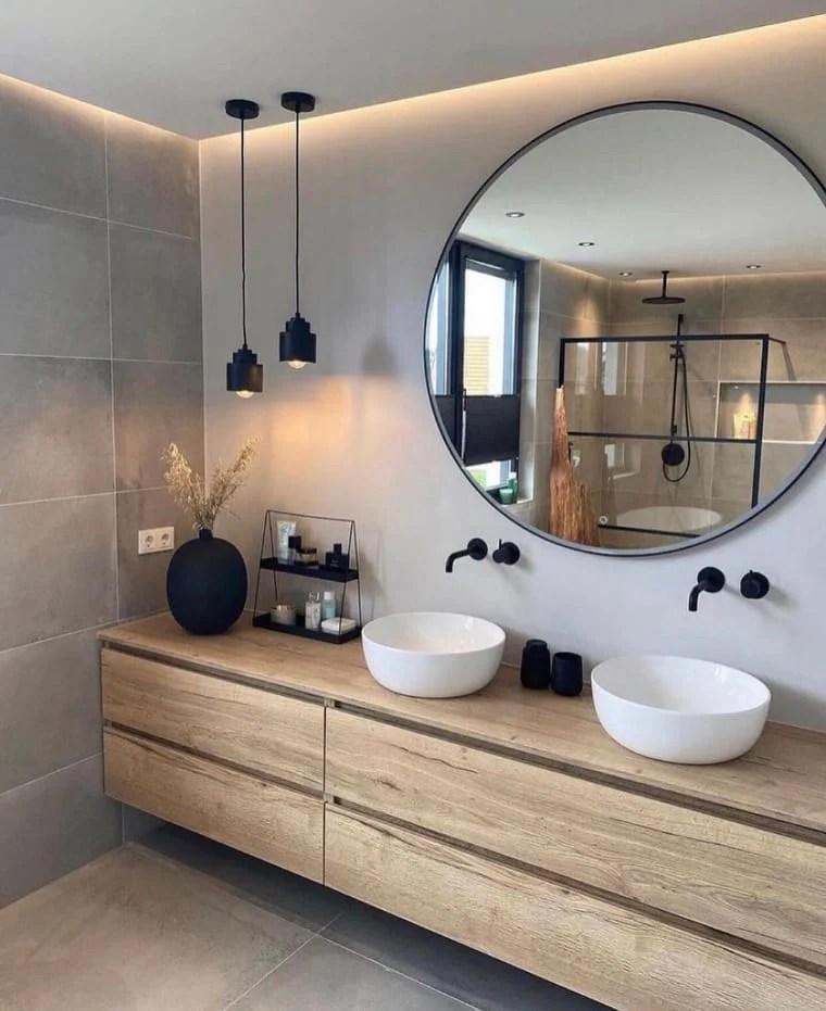 Banheiro duplo