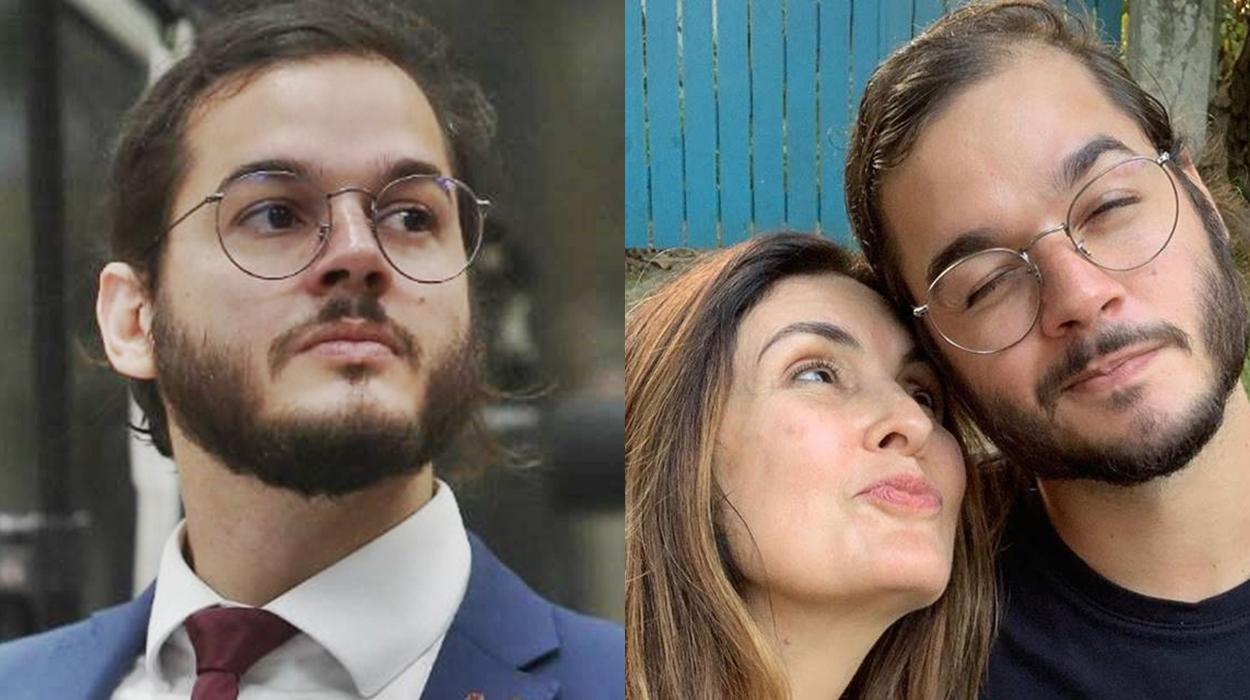Túlio Gadelha e Fátima Bernardes.