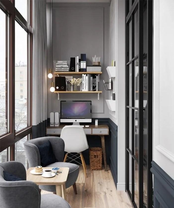 Varanda home office