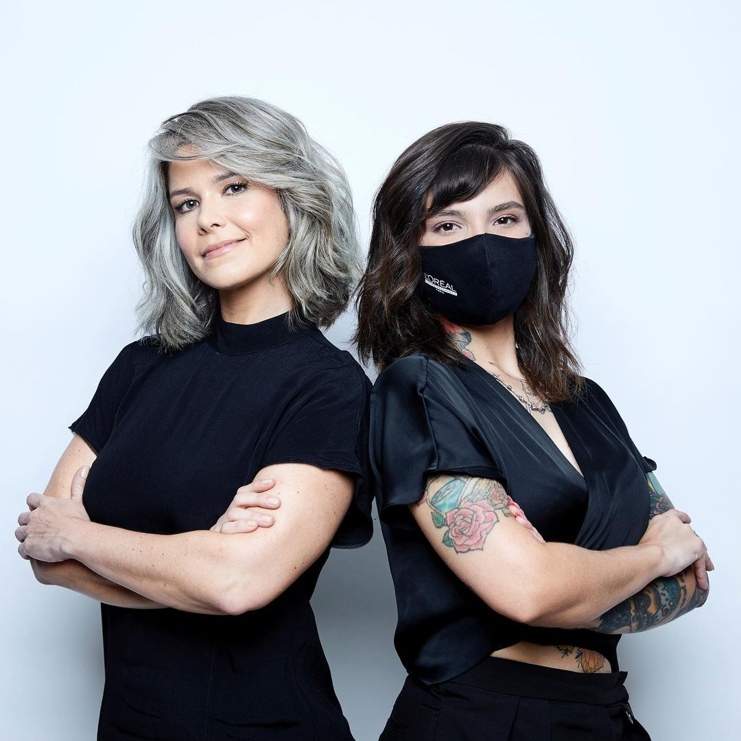 Samara Felippo assume fios grisalhos, parceria com L'oréal Paris.