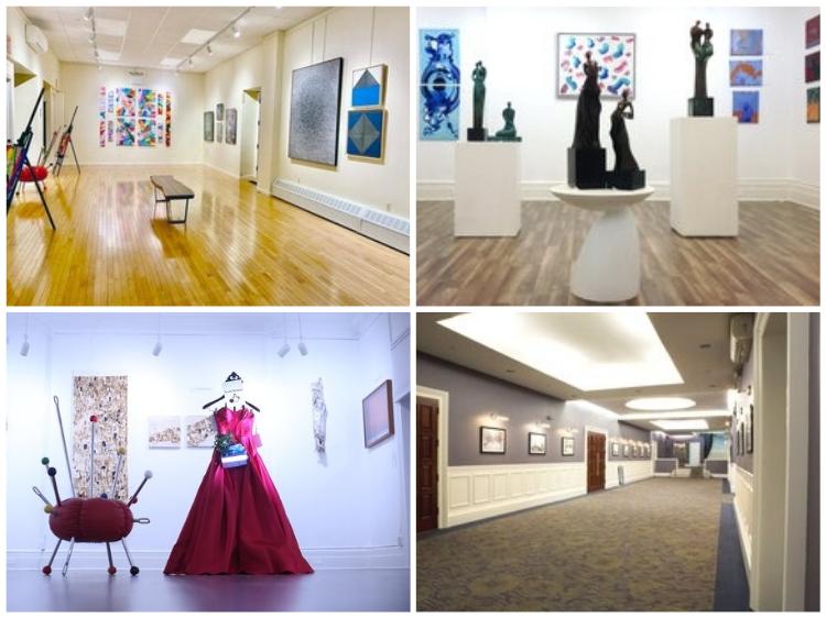 galeria de arte em Nova York