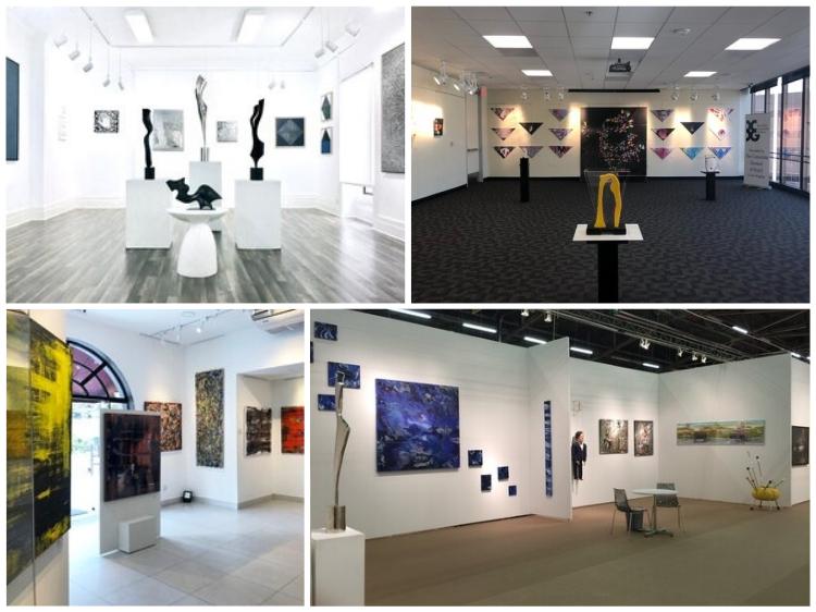 exposições da Saphira & Ventura Gallery