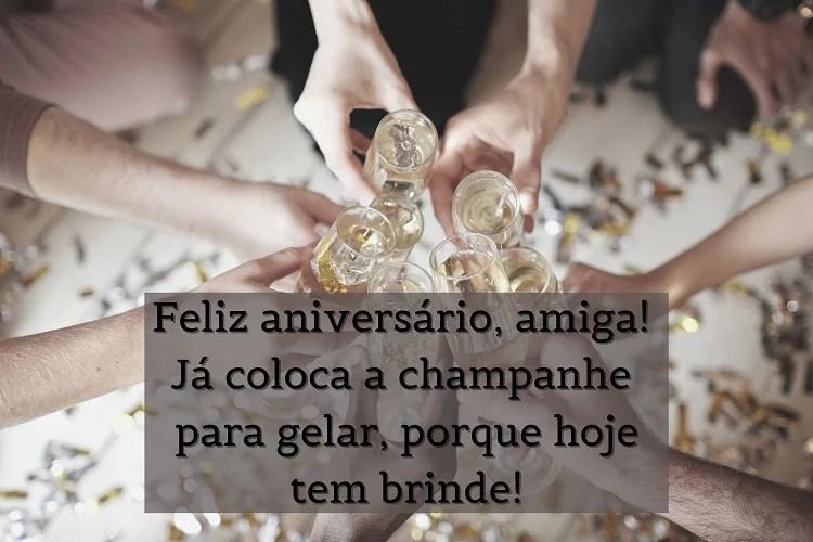 cartão virtual de feliz aniversário para amiga